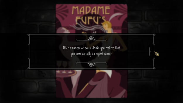 Madame Fufu's location story event