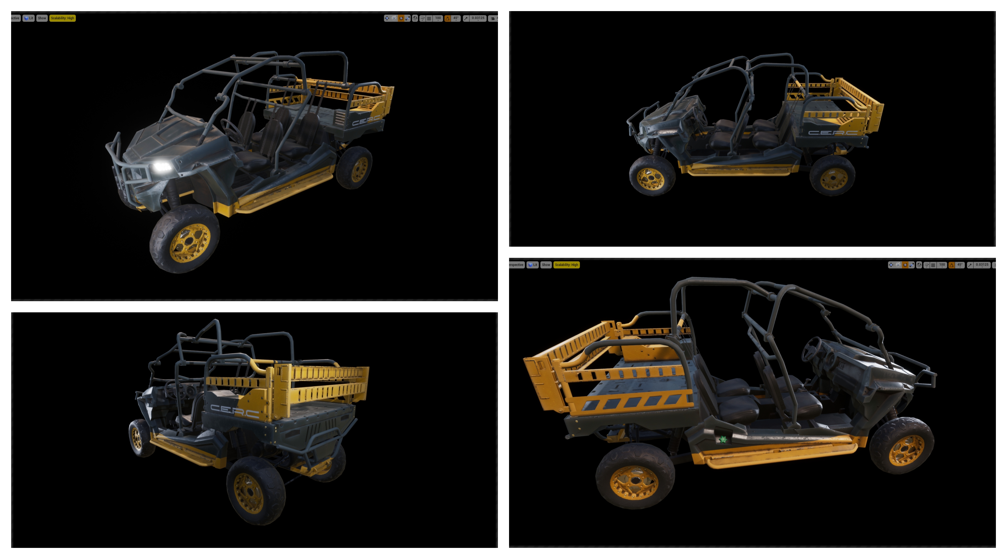 vehicle progress
