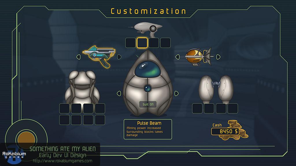 SAMA UI Customization