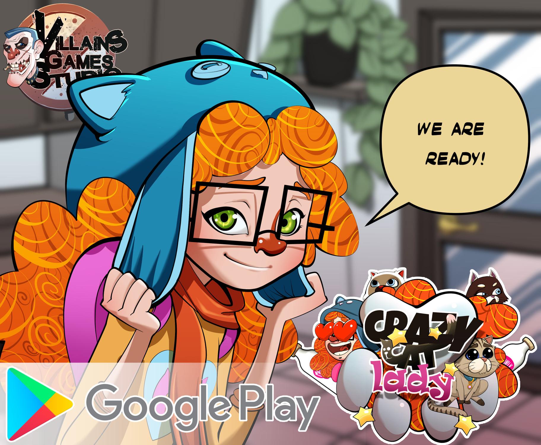 Crazy Cat Lady Google Play