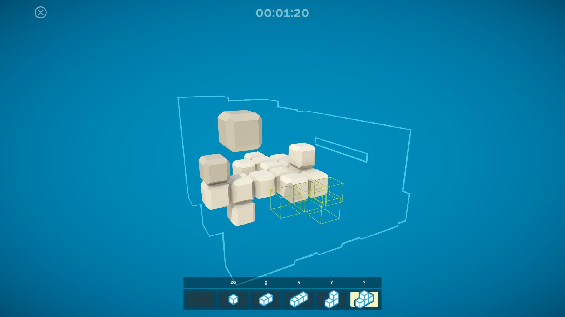 hidden cubes ui