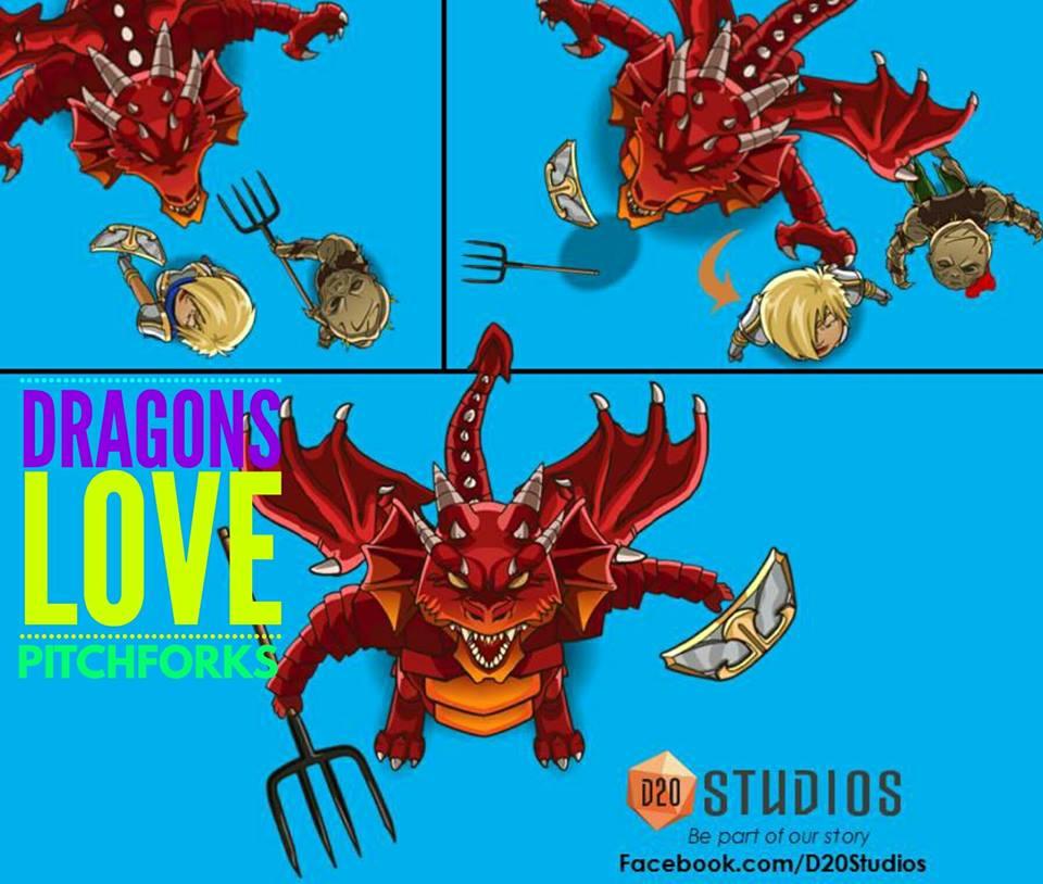 dragonsLovePitchForks