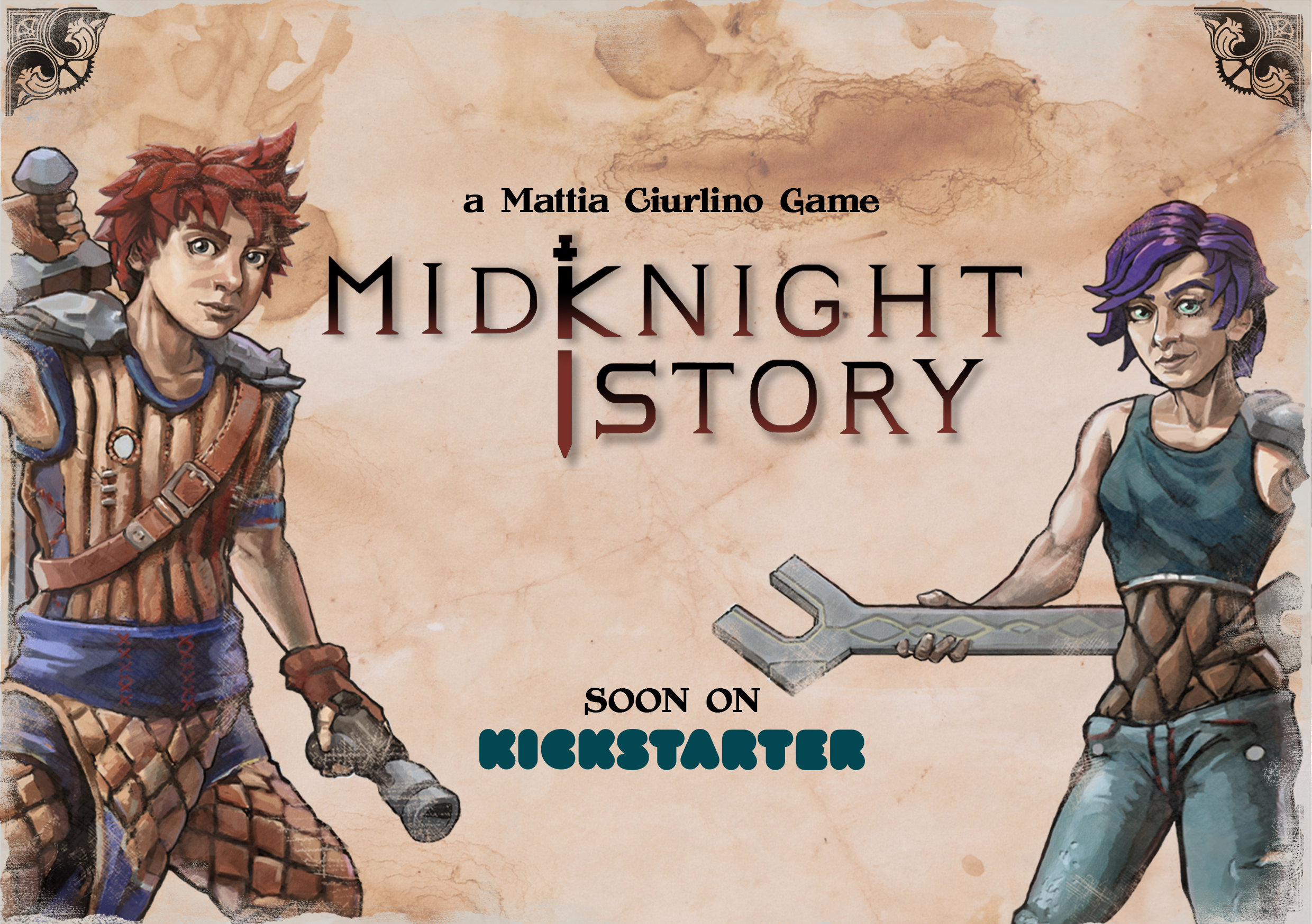 MidKnightStory A5 Poster