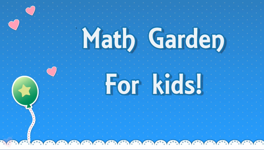 Math Garden for kids