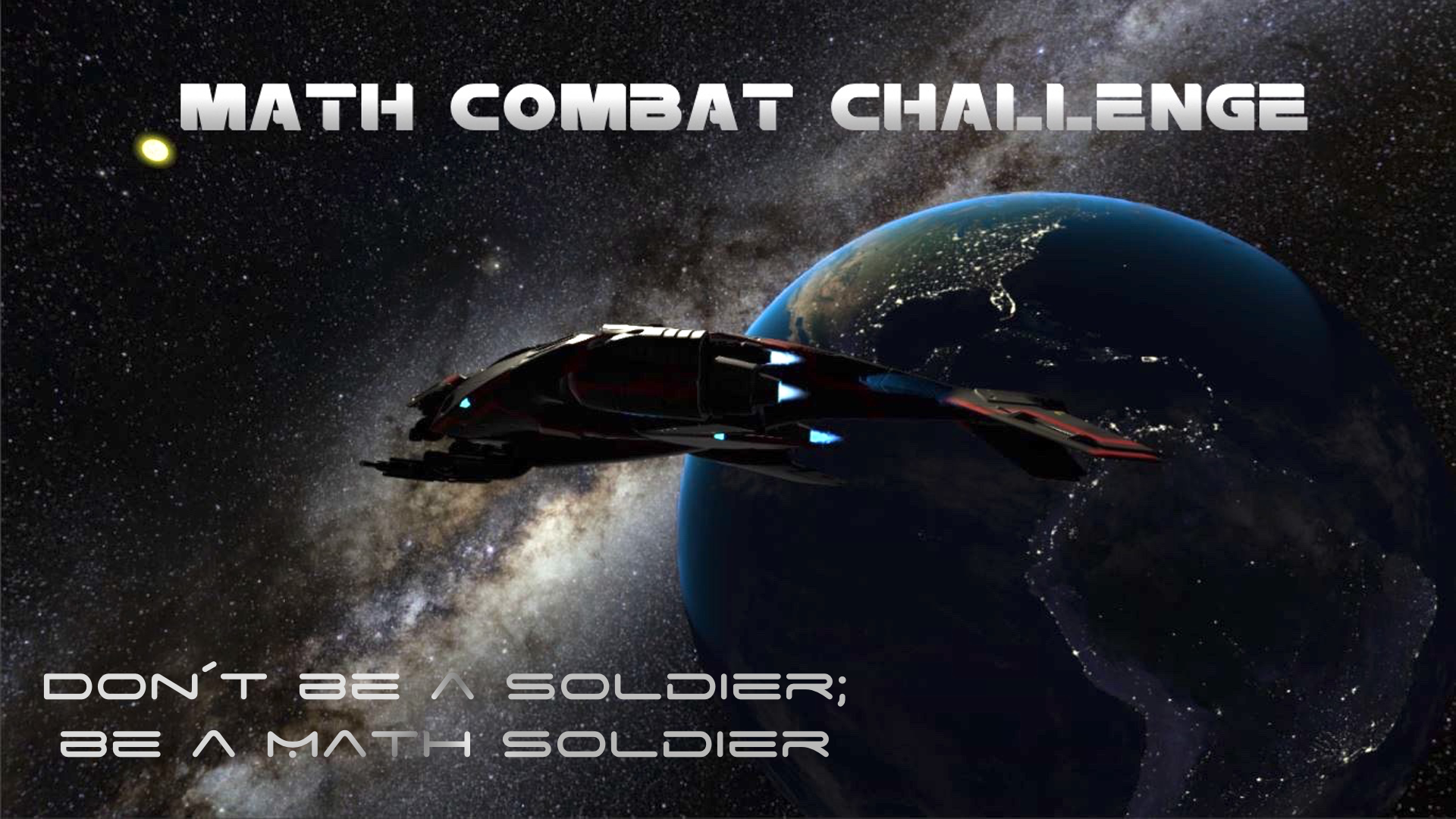 Math Combat Challenge Wallpaper
