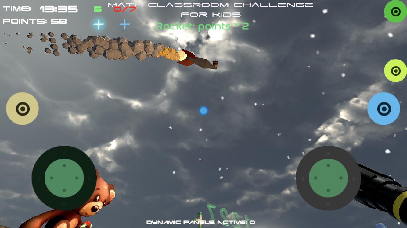Math Classroom Challenge rocket