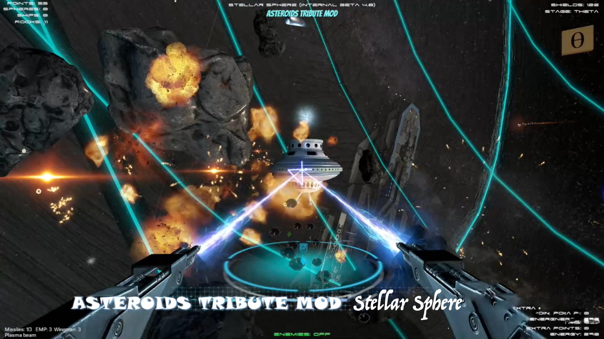 Stellar Sphere mod Asteroids