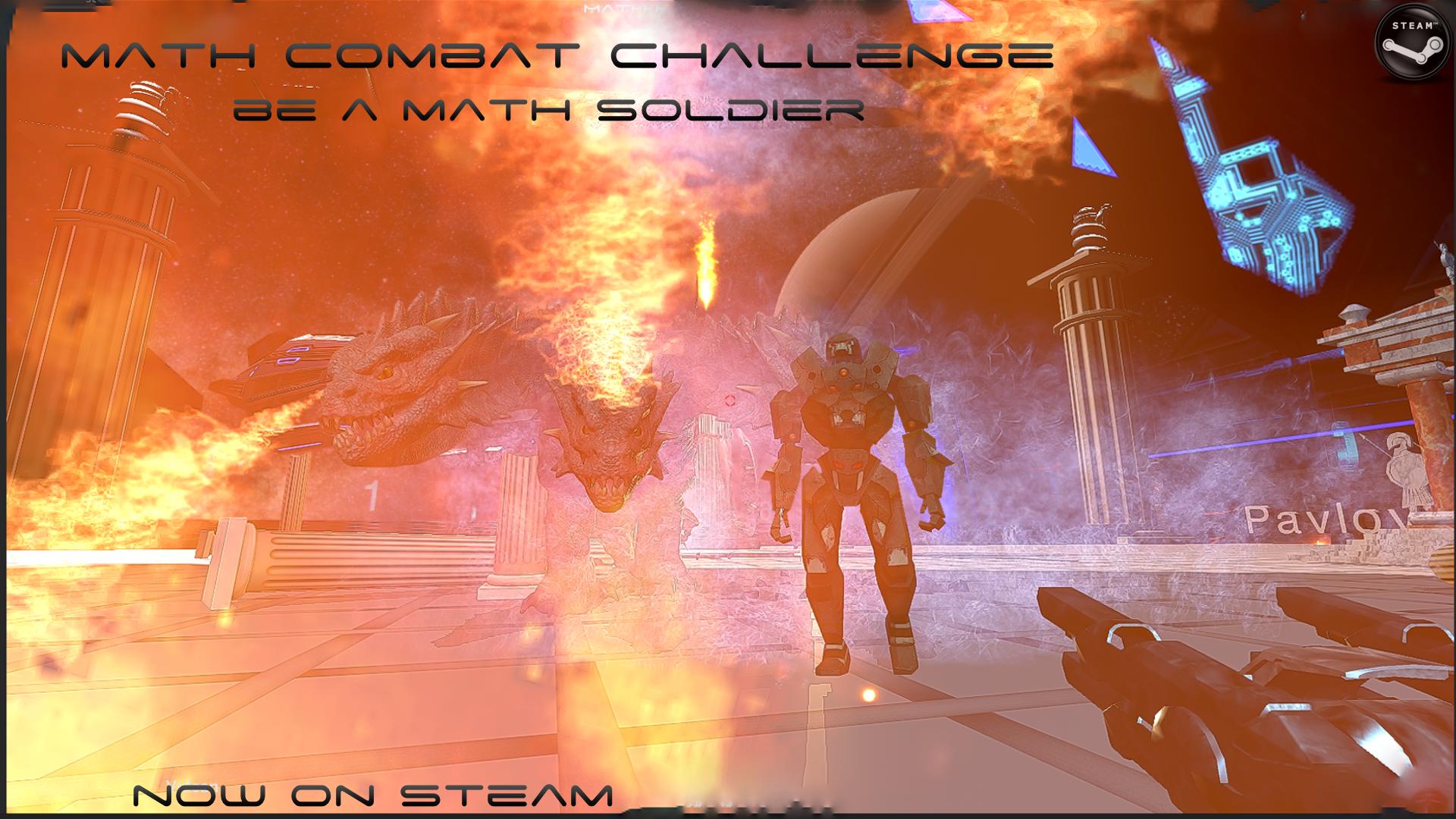 wallpaper release Math Combat Challenge