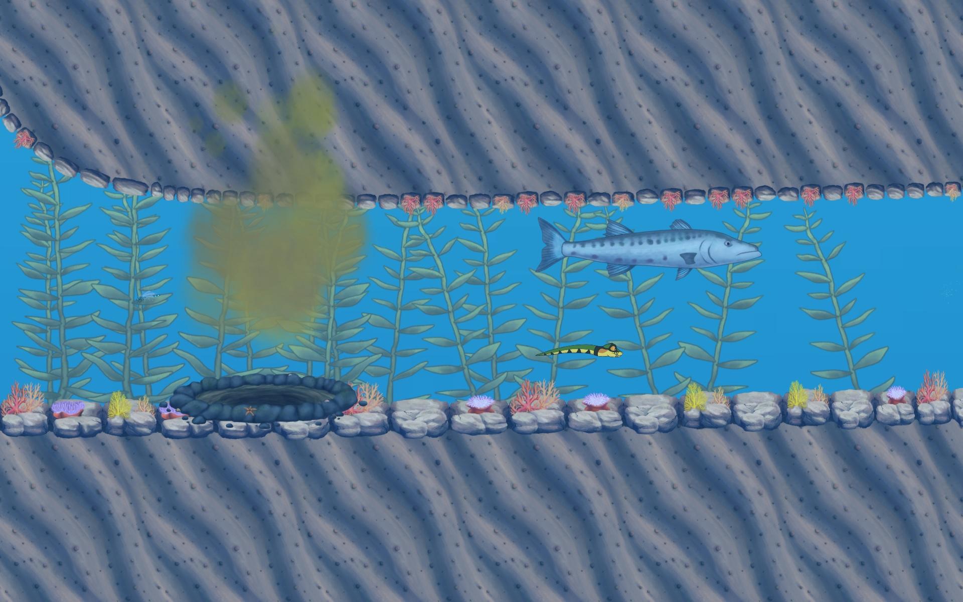 Lost Home underwater
