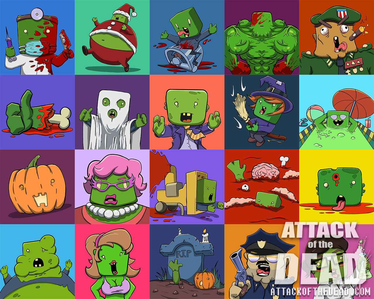 attackofthedead com avatars