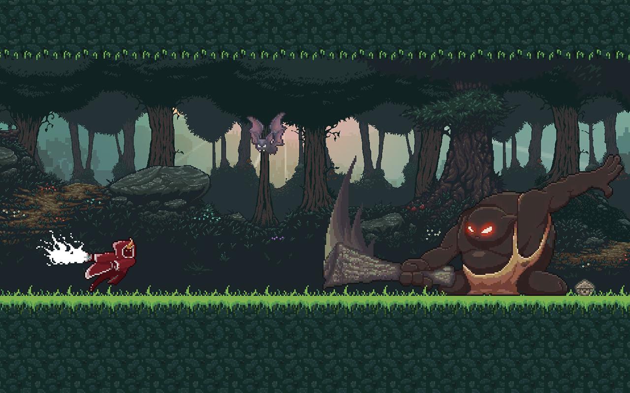 Facing BigBoy - Level 4 Forest Zone