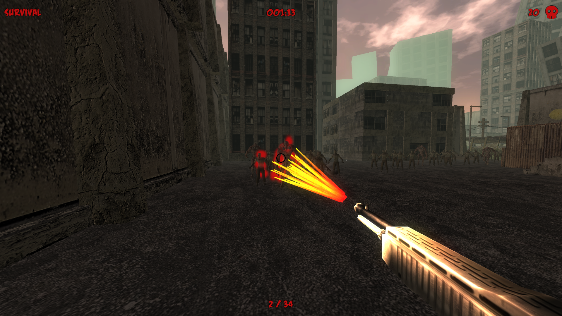 Shotgun Laser