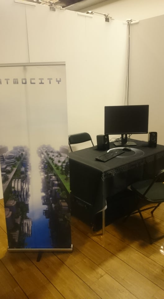 Dreamhack booth