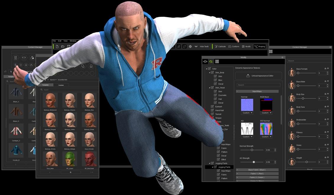 COMING SOON - Character Creator 3 news - Unreal Engine 4