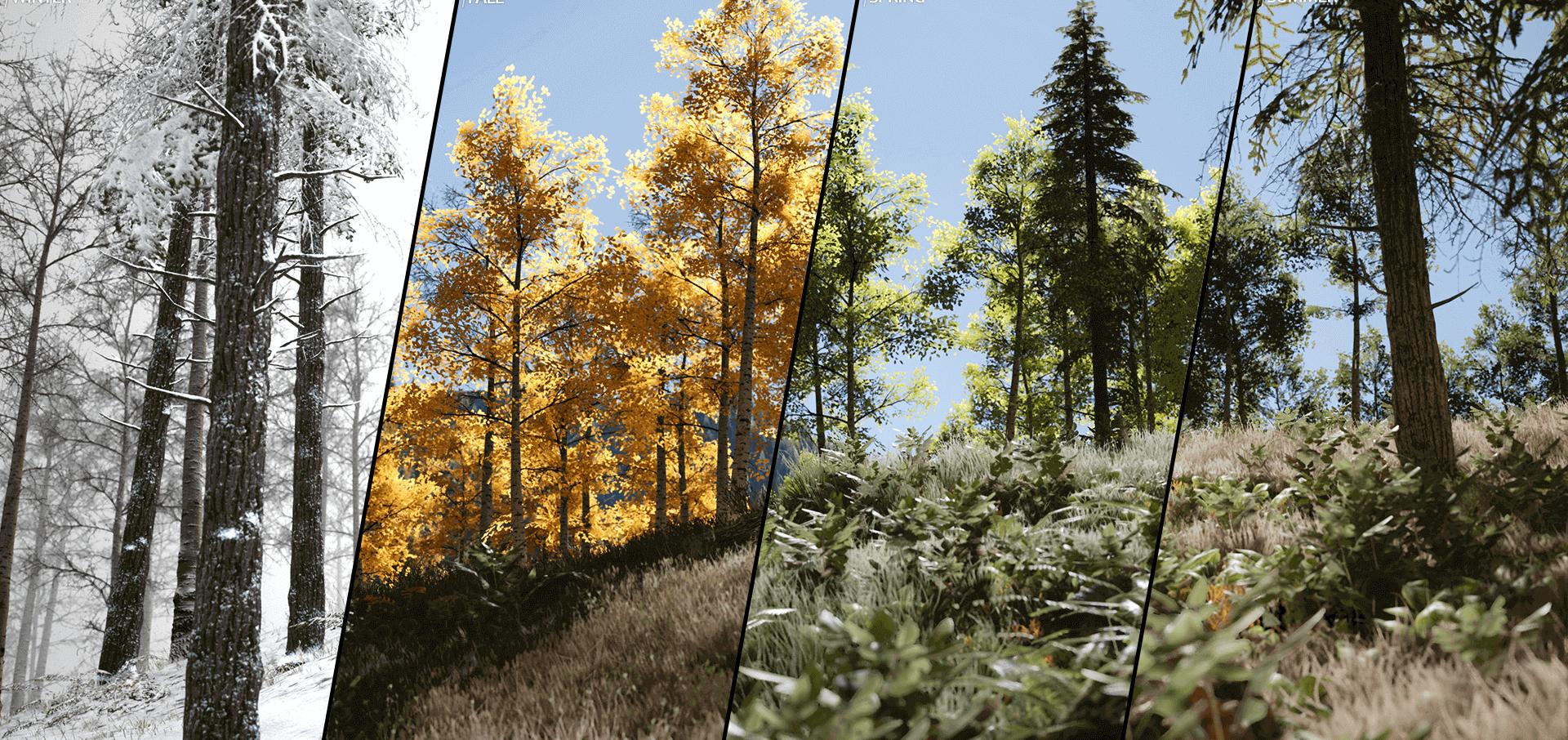 seasons speedtree