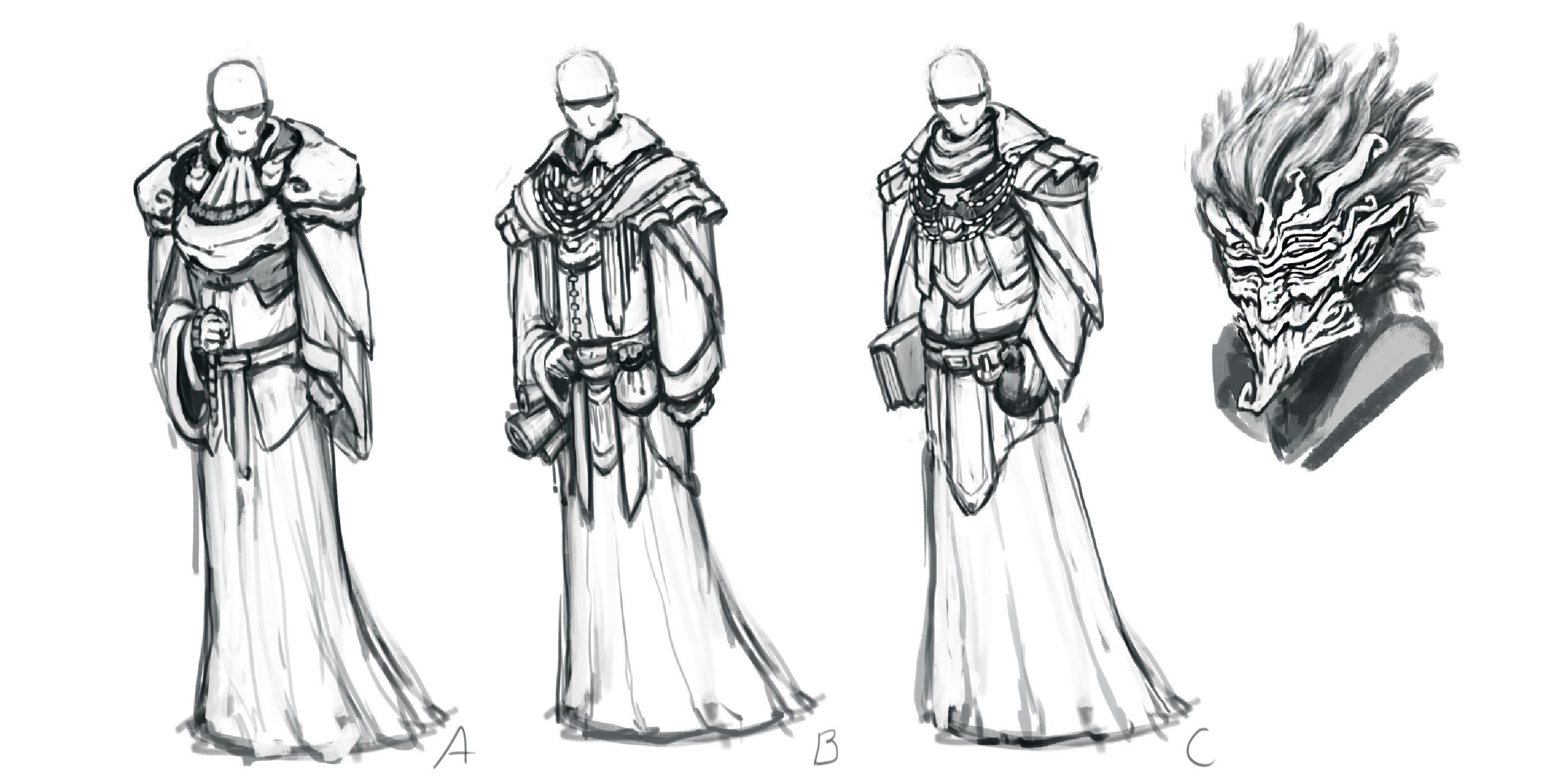 Character Sketch  Krieg