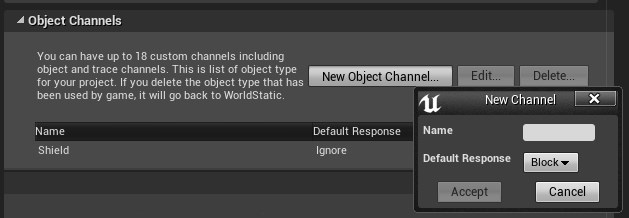 Custom object channel
