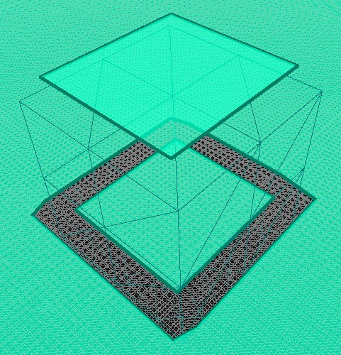 Navmesh inside solid object