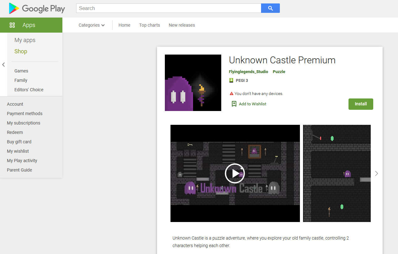 uc on google play