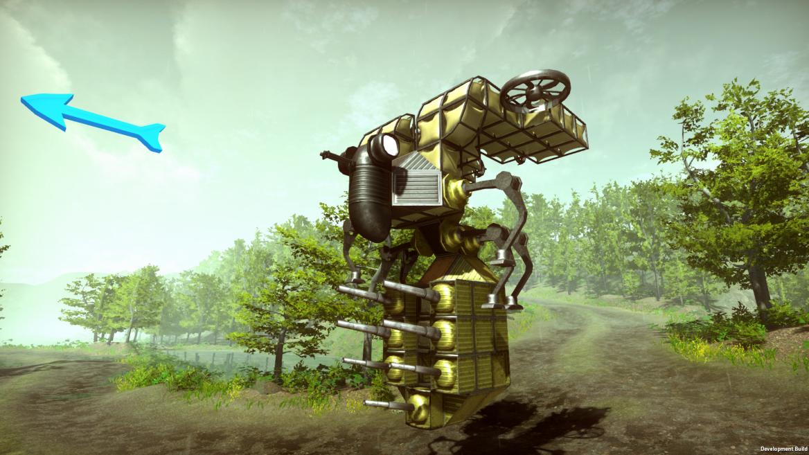 Bee vehicle machine Dieselpunk Wars