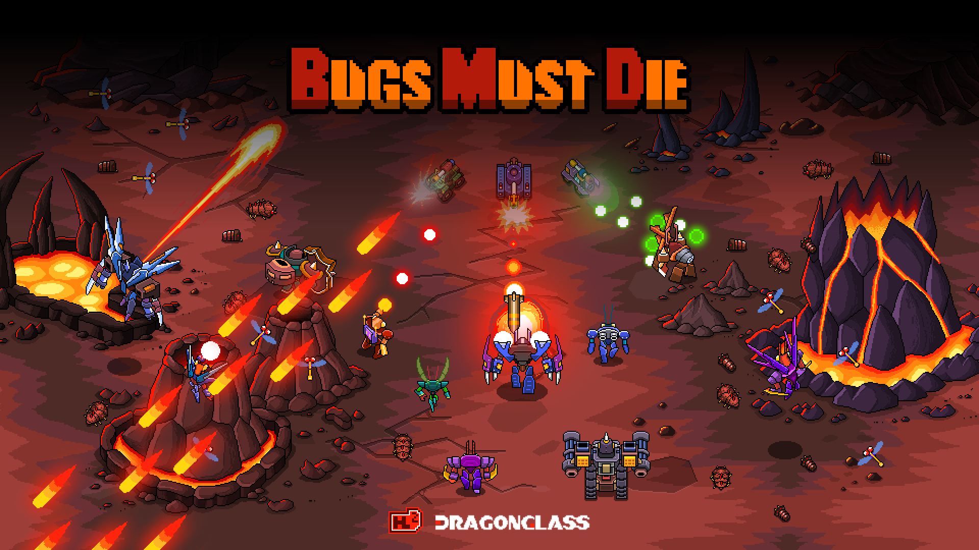 Bugs Must Die Launch Poster