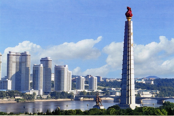 juche tower 18934