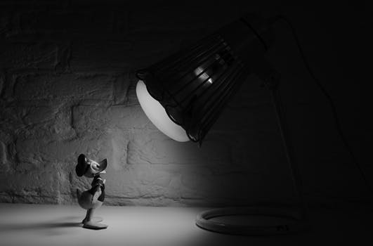 black and white cartoon donald d