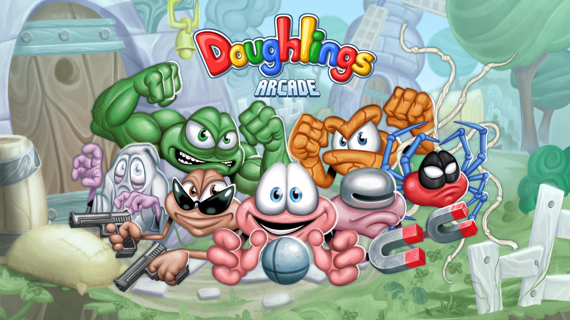doughlings arcade title