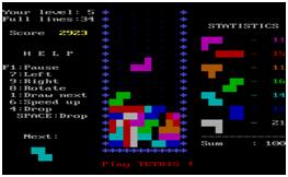 PIC3 Tetris
