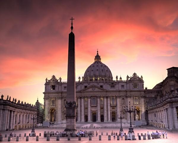 Vatican obelisk.