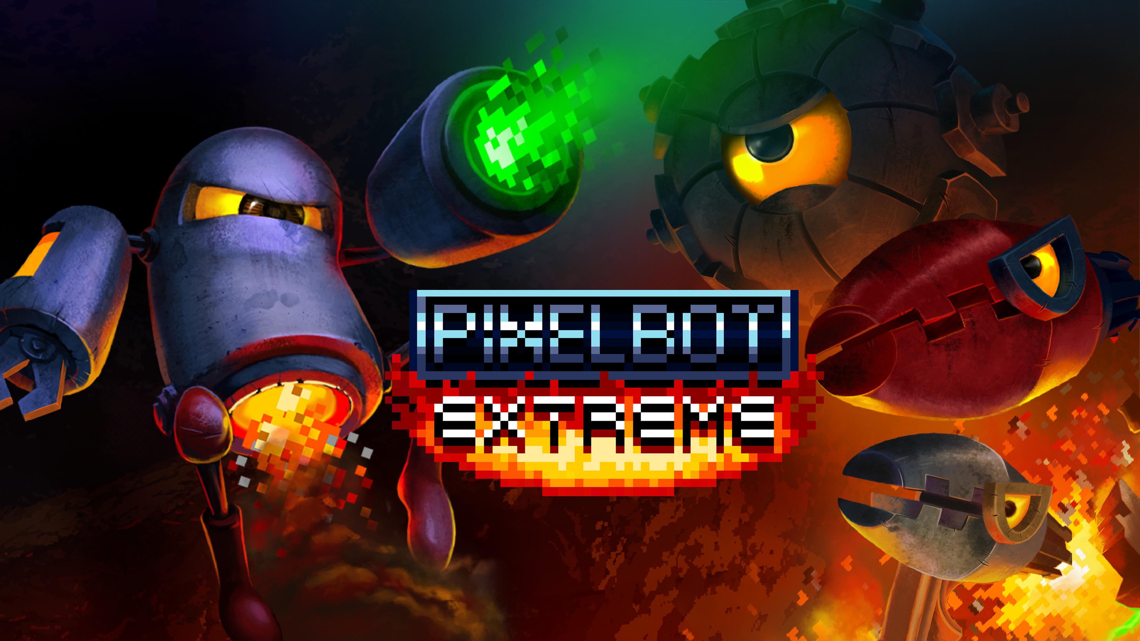 Pixelbot Title