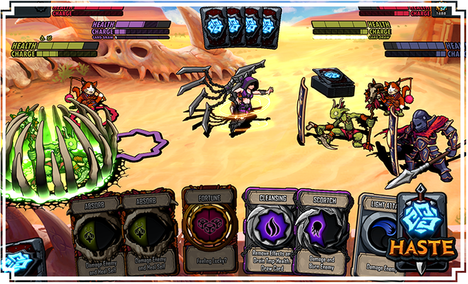 Haste - A Card Battle game played in Real Time