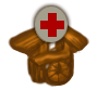 Small medicinal village icon.