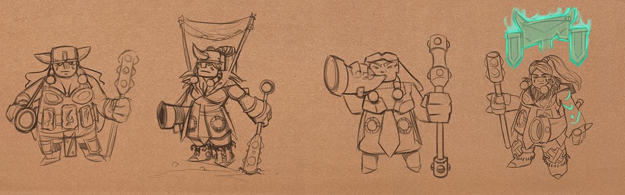 Tiny Groma Sketches