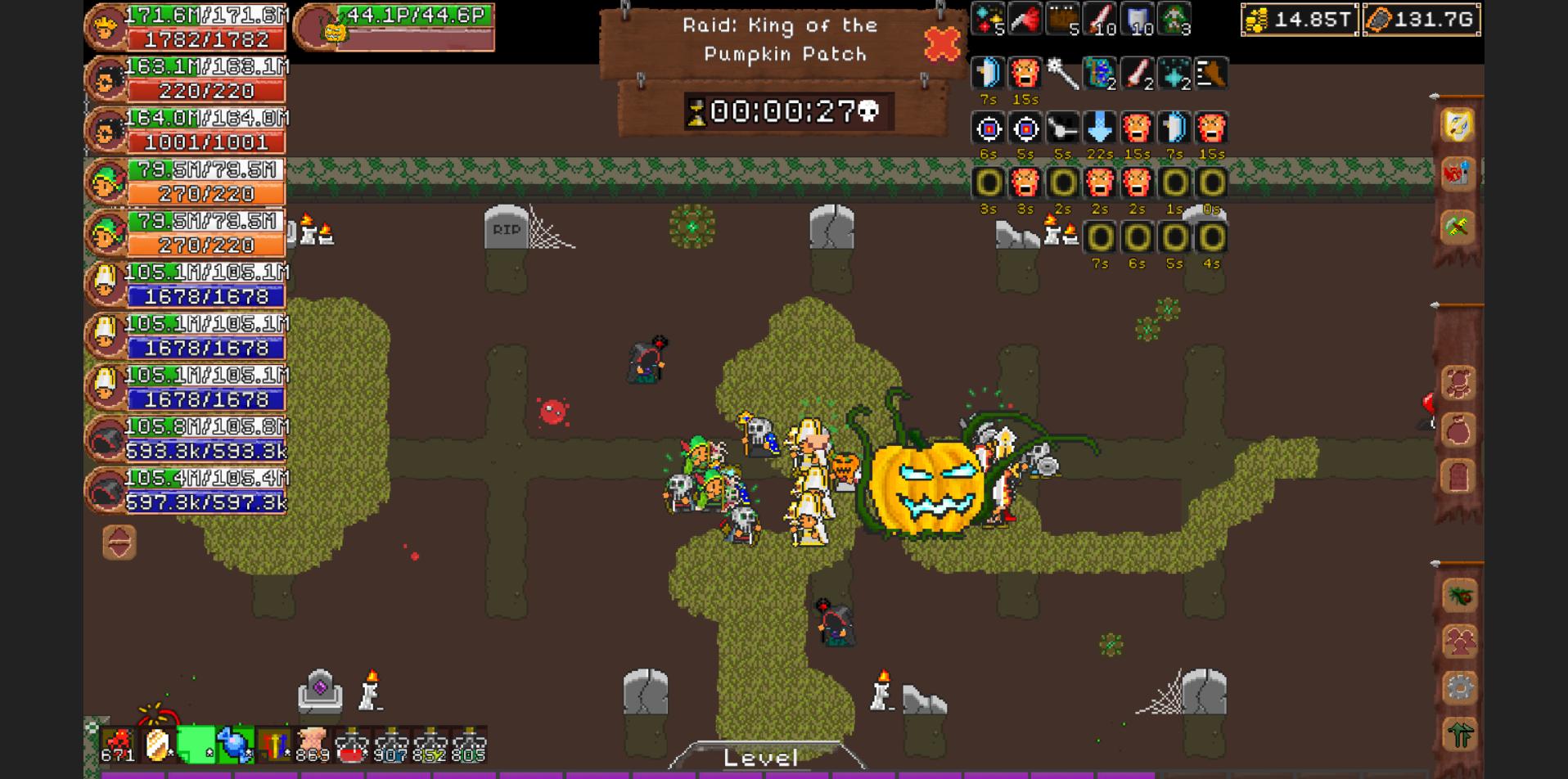 Halloween Raid: Pumpkin Lord