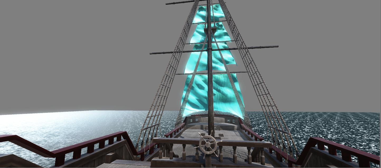 Wheel Sails And Ocean
