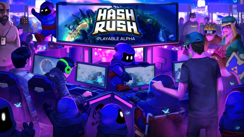 Play the Hash Rush Alpha
