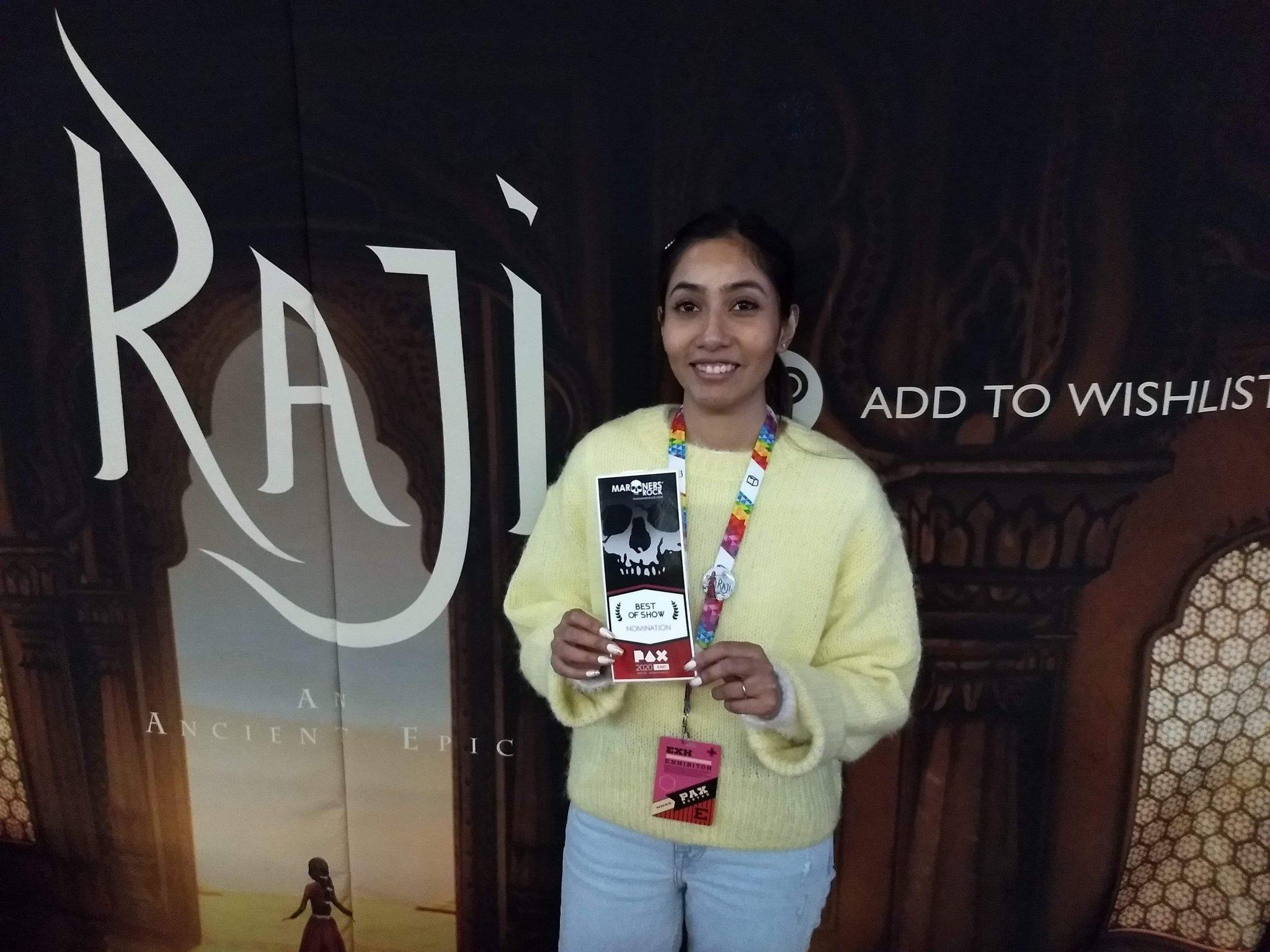 Raji Best of ShowPAX