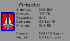 Frigate Ship Details