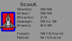 Scout Ship Details