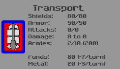 Transport Ship Details