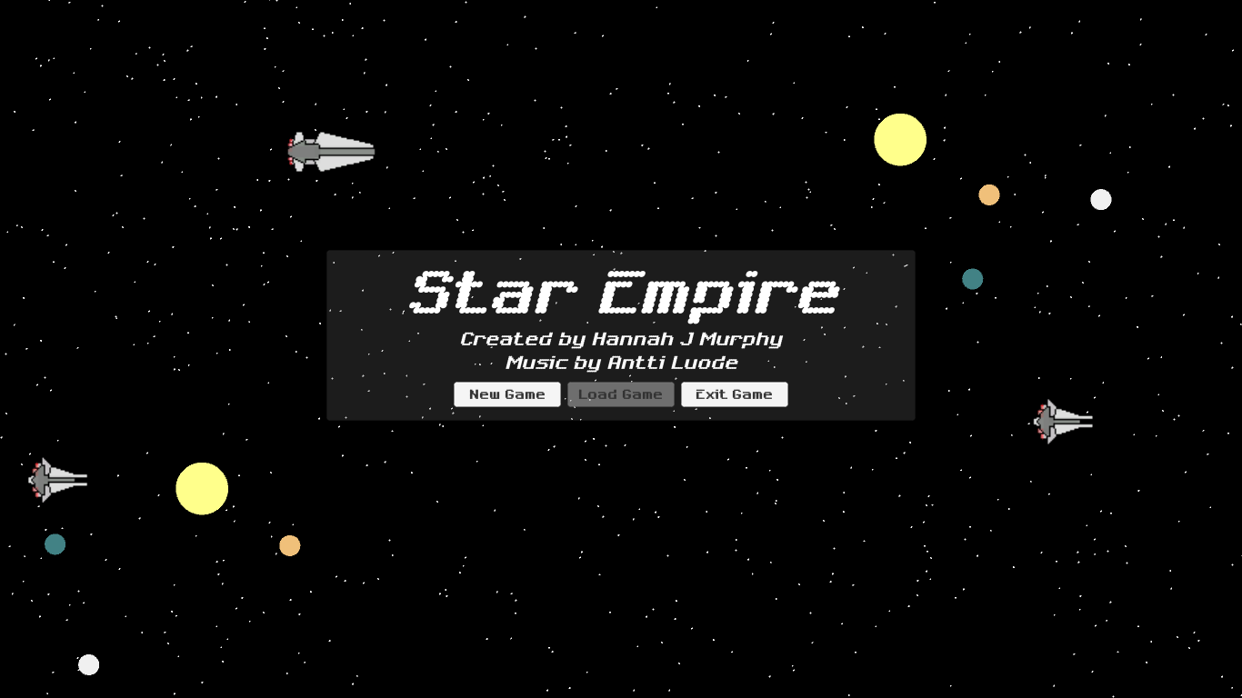 Star Empire Title Screen
