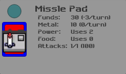 Details Colony Missile