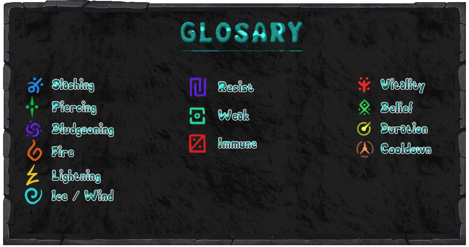 Glosary
