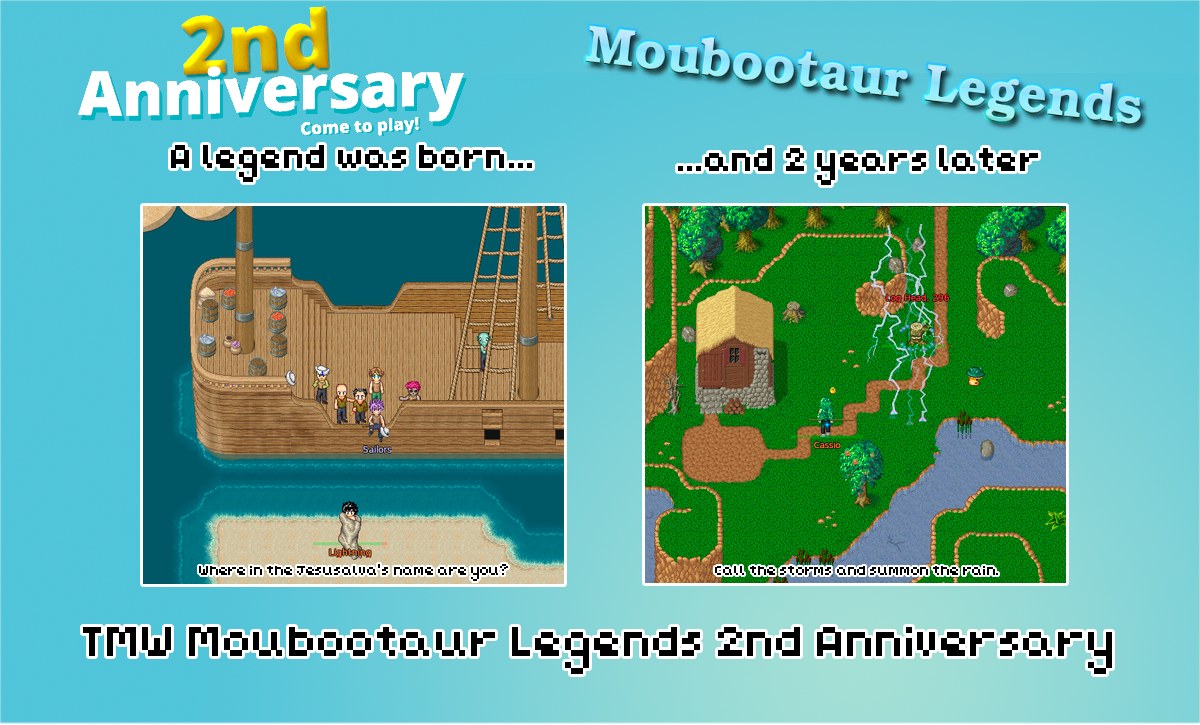Come join our second anniversary!