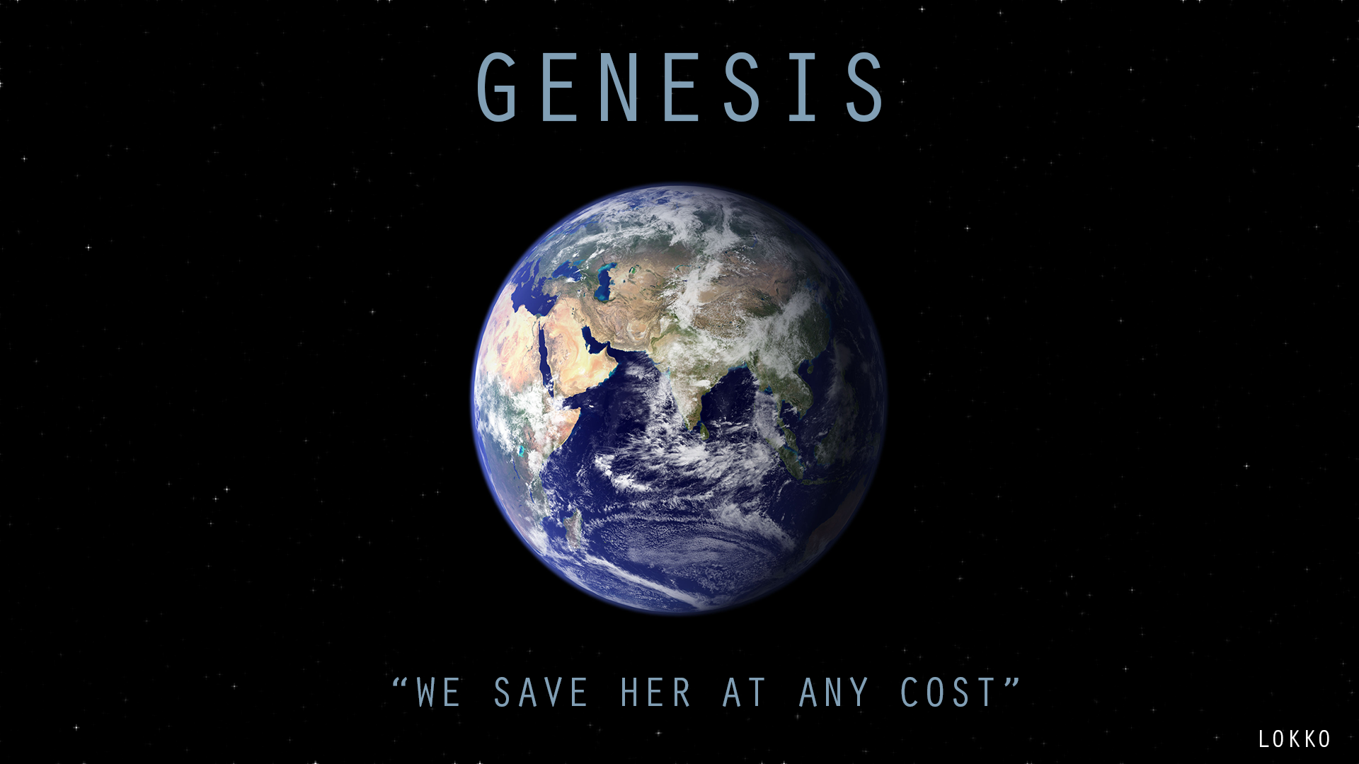 genesis cover with stars