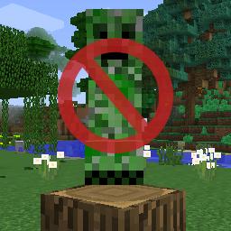 Minecraft Creeper no!