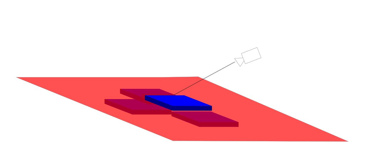 Isometric Tiles As Plane