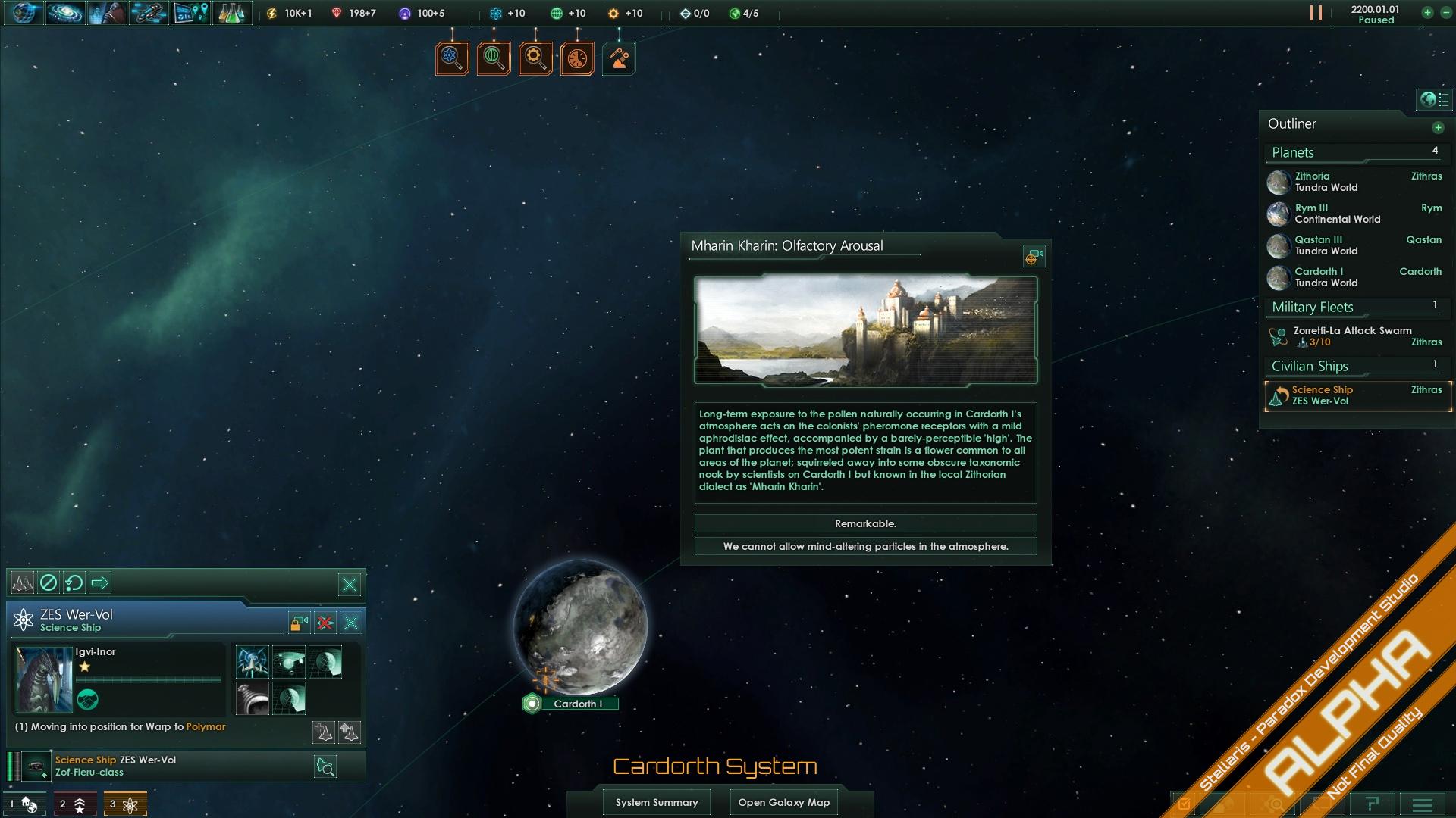 Stellaris decision Window