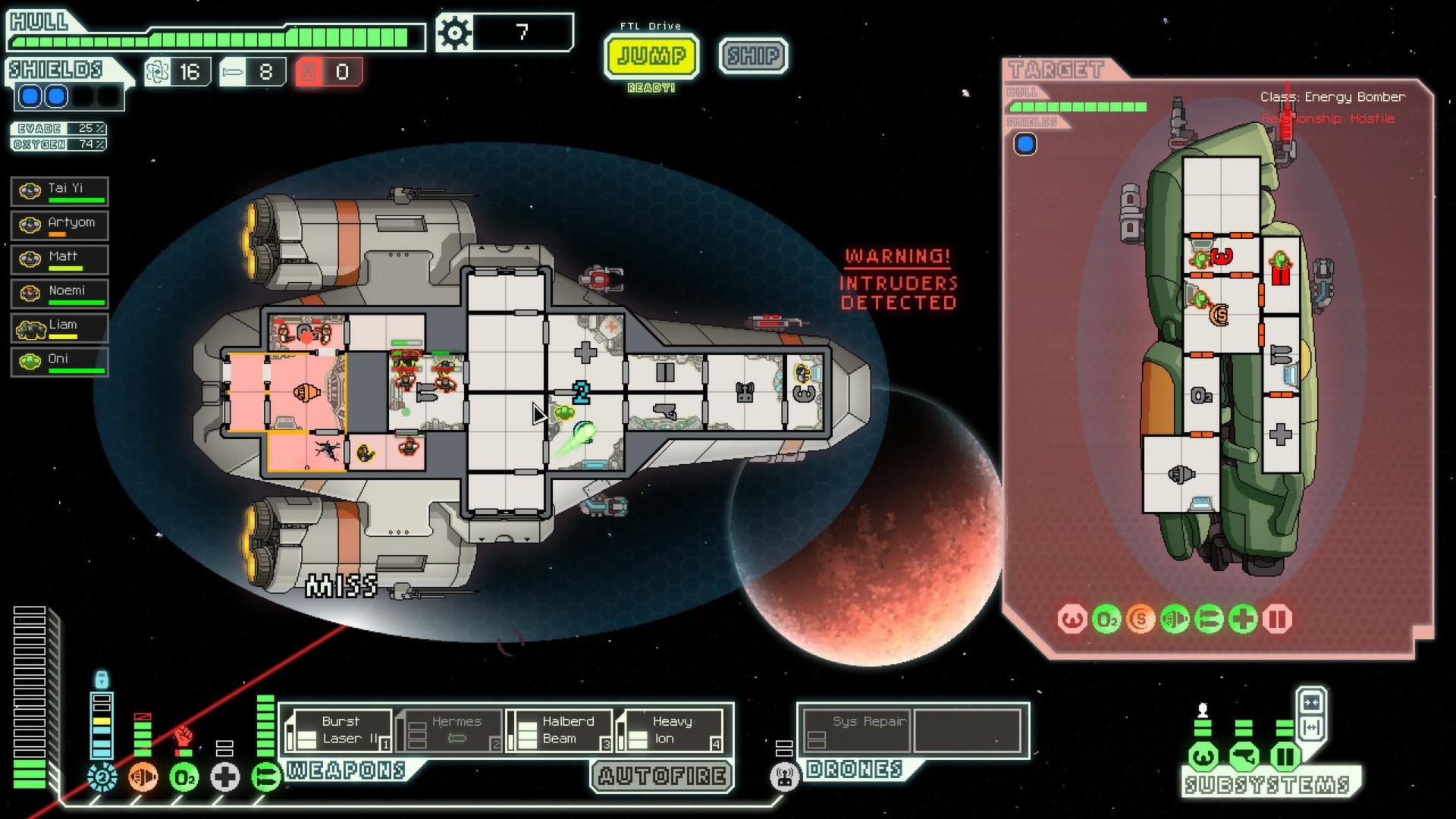FTL Game Screen